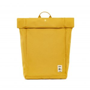 roll mustard laptop bag