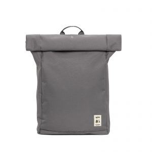 Labels of tormorrow roll grey laptop bag