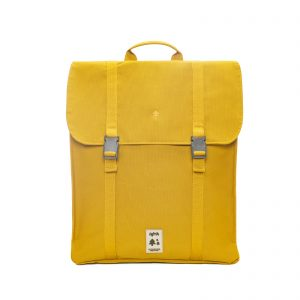 labels of tomorrow handy laptop bag yellow