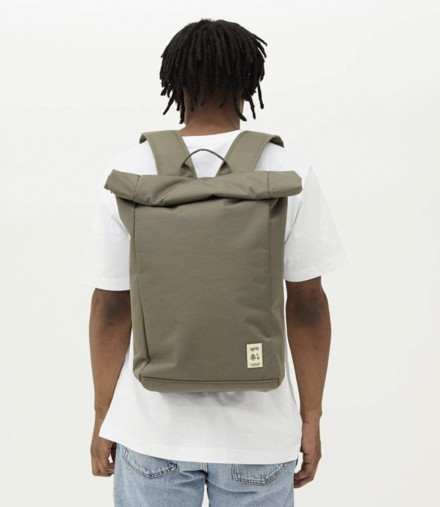 Roll labels of tomorrow laptop bag