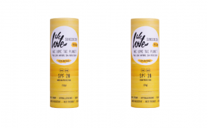 The We Love Sunscreen labels of tomorrow